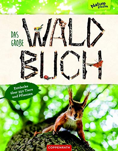 Das große Waldbuch: Entdecke über 350 Tiere und Pflanzen (Nature Zoom)