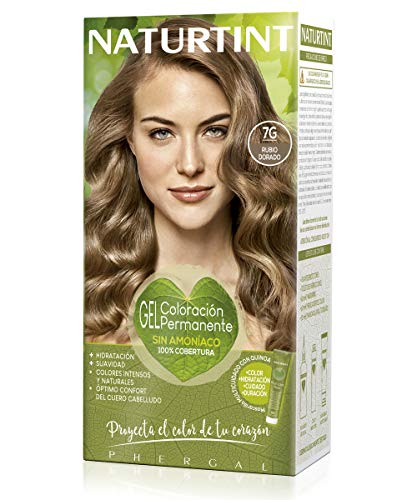 Naturtint, Coloración sin amoniaco, 100% cobertura de canas, Ingredientes...