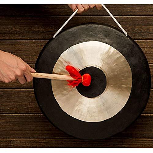 Gong De Mesa, Cuenco Tibetano Grande, Platillos De Gong De Mano De Latón Y Cobre, Excelente Sonido, Incluidas Bobinas De Madera/Algodón