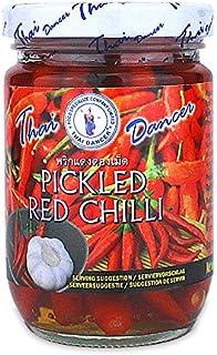 Pickled red chilli - rote thai chili im Glas Thai Dancer 200g