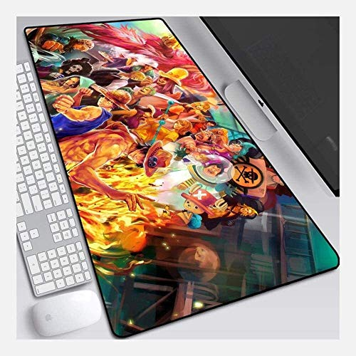 Gaming Alfombrilla de Ratón Grande Gaming Mouse Pad Onepiece Big Extended Mouse Mat Teckeboard Mat Mousepad de Gran tamaño para Computer PC Desk Home Office (Color : H, Size : 600 * 300 * 3mm)