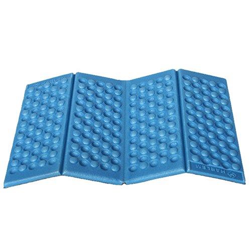 KAB Moisture-Proof Folding EVA Foam Pads Mat Cushion Seat Camping Park Picnic Foldable 38x27CM Damp Proof Floor Seating Pads mat (1pack)