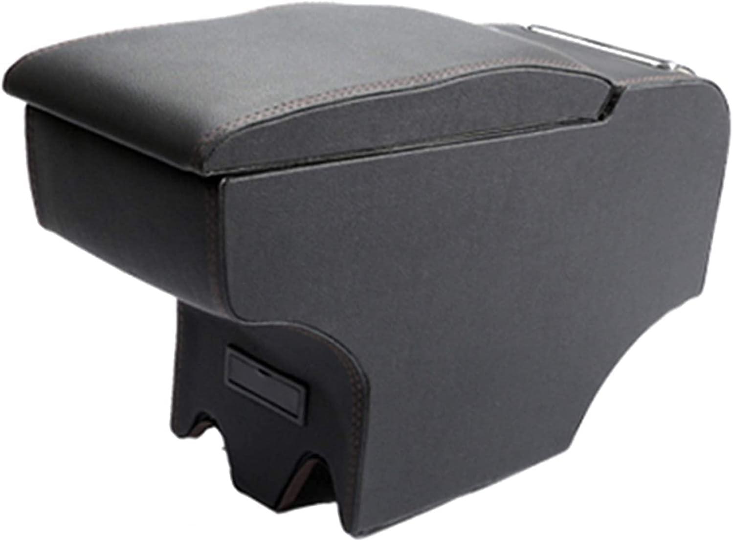 Coche Apoyabrazos Caja Reposabrazos Central para Mini Cooper One S JCW Clubman R55 R56 R60 F55 F56, Almacenamiento Reposabrazos Interior Accesorios