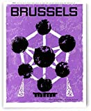 AZSTEEL Poster for The Atomium Tower In Brussels, World