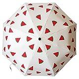 Ai-life Motif de Fruits Anti-UV Compact Pliant Parapluie, 8 Baleines en...