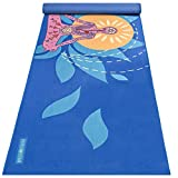 "Peace Yoga Extra Thick Exercise Mat Black Tiger ½"" Inch"