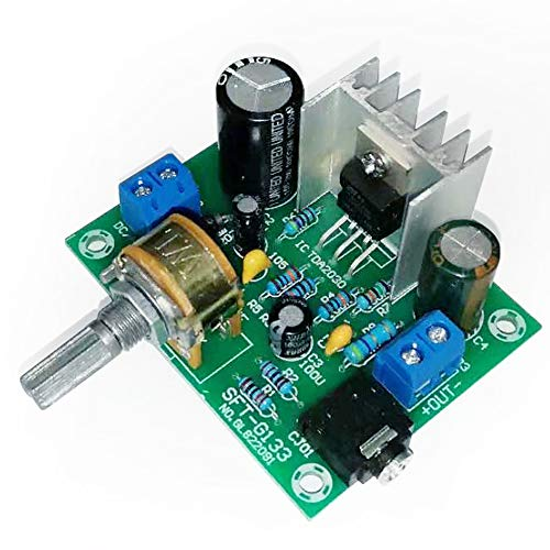 Tda2030 One-Channel Mono 15w Ac/Dc 12v for Audio Amplifier Board Pack of 1
