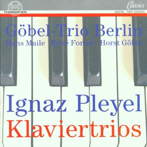 Ignaz Pleyel: Sonaten für Klavier, Violine und Violoncello