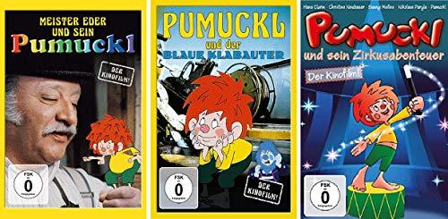 Meister Eder und sein Pumuckl - 3 Kinofilme (Der Kinofilm 1982 / Der blaue Klabauter / Zirkusabenteuer) im Set - Deutsche Originalware [3 DVDs]