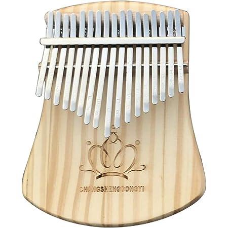 Kalimba Instrumento,Thumb Piano,Piano Dedo Percussion,Piano de Pulgar 8Teclas bear con Hermoso Colgante,Port/átil M/úsica Instrumento decoraci/ón para Ni/ños// Adultos//Principiantes//Profesionales