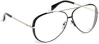 Moschino Aviator Sunglasses for Women - Clear Lens, MOS007/S 2M299