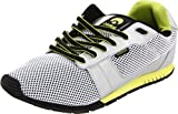 Osiris Skateboard Schuhe - Retron- Silver/Lime/Black,...