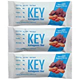 Key Bars - Chocolate Peanut Butter Ketogenic Bars - High Fat, Low Carb. KeyBars.co - Keto Protein Bars as a Keto Snack Food for on the go Keto Diets. 12 Pack Key Bars