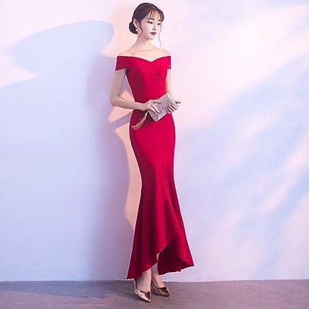 BINGQZ Dress Cocktail Dresses Casual Formal VNeck Evening Dresses AnkleLength robe de soiree Party Vestido abendkleider Gown