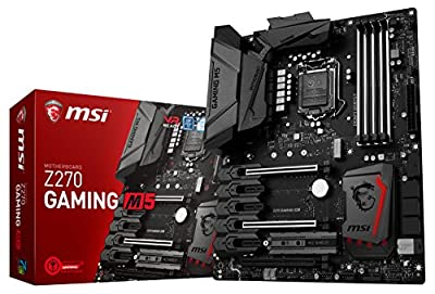 MSI Enthusiastic Z270 GAMING M5 - Best Mini-ITX Motherboard For i7-7700K