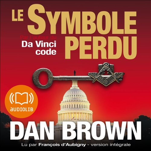 Le symbole perdu audiobook cover art