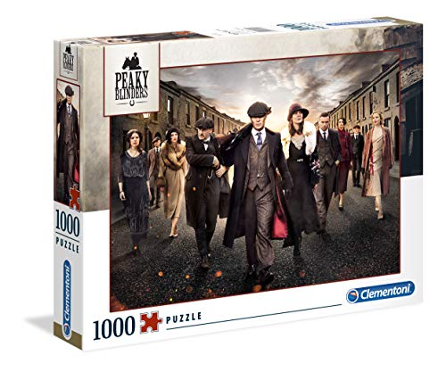 Clementoni - 39570 - High Quality Collection Puzzle - Peaky Blinders - 1000 Pezzi - Made In Italy - Puzzle Adulti - Puzzle Netflix - Puzzle Serie Tv