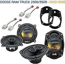 Compatible with Dodge Ram Truck 2500/3500 2006-2010 OEM Speaker Upgrade Harmony Speakers New