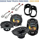 Compatible with Dodge Ram Truck 2500/3500 2006-2010 OEM Speaker Upgrade Harmony...
