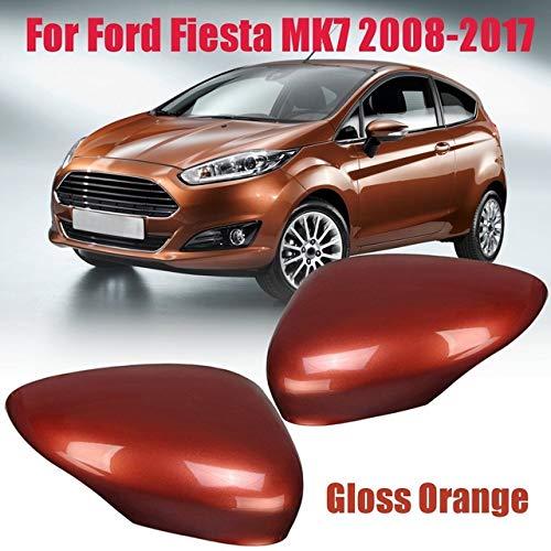 JNSMQC Auto spatbord achteruitkijkspiegel cover decoratieve doos Voor Ford Fiesta MK72008 2009 2010 2011 2012 2013 2013 2013 2014 2015 2016 2017 auto