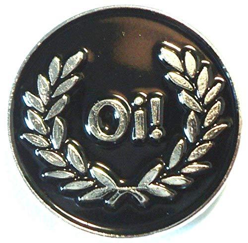 Anstecknadel Mod Scooter Oi, aus Emaille und Metall, ca. 25 x 22 mm, anlaufgeschütztes Metall, hochwertige Kupplung und Anstecknadel