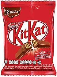Nestlé Kit Kat Milk Chocolate Bar Snack Pack (Pack of 12)