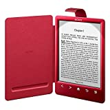 Sony PRSACL30RC.WW2 - Funda para ebook PRS-T3 (cubierta con luz), color rojo