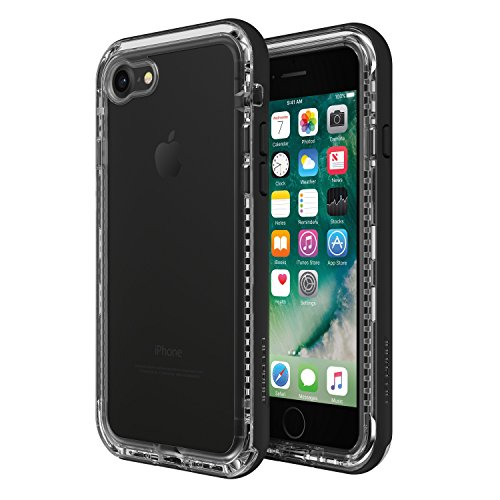 LifeProof Next - Funda Resistente a Suciedad y Caídas iPhone SE 2020/8/7, Negro