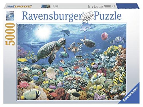 Ravensburger Italy- Puzzle in Cartone Mondo Sottomarino, 5000 Pezzi, 17426