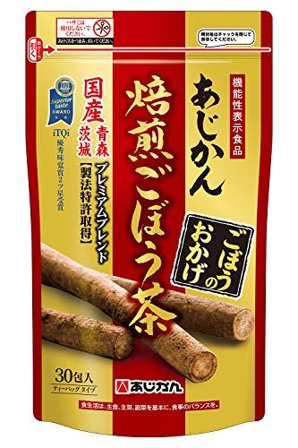 あじかん機能性表示食品ごぼう茶ごぼうのおかげ30包(1包あたり1.2L分/1袋で約36L分)