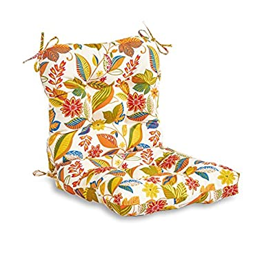 Greendale Home Fashions Outdoor Seat/Back Chair Cushion, Esprit