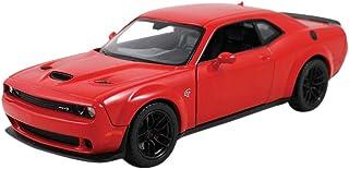 2018 Dodge Challenger SRT Hellcat Widebody Red 1/24 Diecast Model Car by Motormax 79350