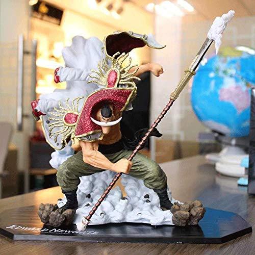 Bandai Figuarts Zero, Anime Hero One Piece Doll, Anime Puppet Doll PVC Toy, War White Beard (Earl) Super Beard On Top of The War GK Desktop