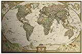 Bxiaoyan 1.000 Piezas Puzzles Adultos Kid Mapa del Mundo Imagen Rompecabezas Set, Asamblea De Cartón Juguetes Clásicos Adolescentes Brain Challenge Family Entertainment 75x50cm Juegos