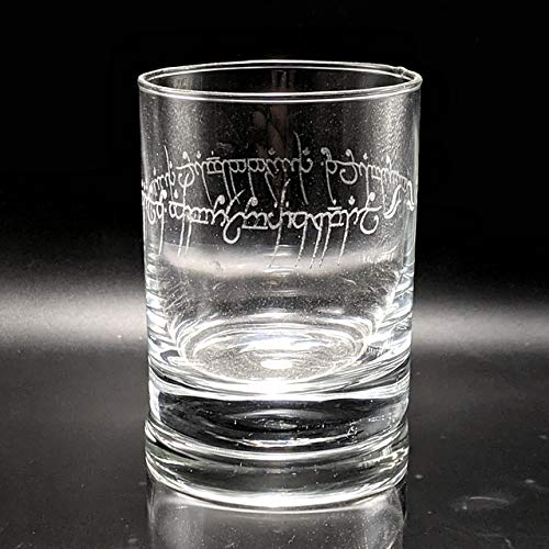 LORD OF THE RINGS Inspired Colorado Springs Max 80% OFF Mall Rocks Grea Whiskey Glasses Engraved