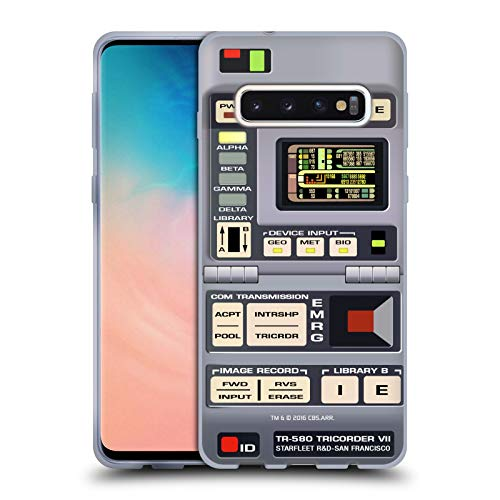 Head Case Designs Officially Licensed Star Trek Tricorder Gadgets TNG Soft Gel Case Compatible with Samsung Galaxy S10