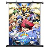 Shadowverse Anime Fabric Wall Scroll Poster (32x48) Inches [A] Shadowverse-2(L)