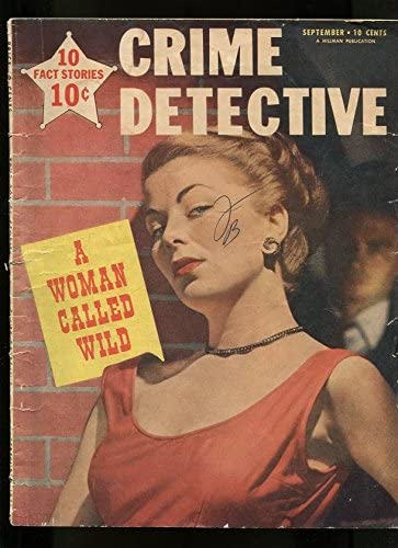 CRIME DETECTIVE-09 1951-HARD TO KILL NEW VIRGIN-MAN GALL THE CHEATED Max 42% OFF