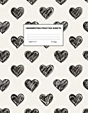 Handwriting Practice Sheets: Cute Blank Lined Paper Notebook for Writing Exercise and Cursive Worksheets - Perfect Workbook for Preschool, ... 3rd and 4th Grade Kids - Product Code A4 9485