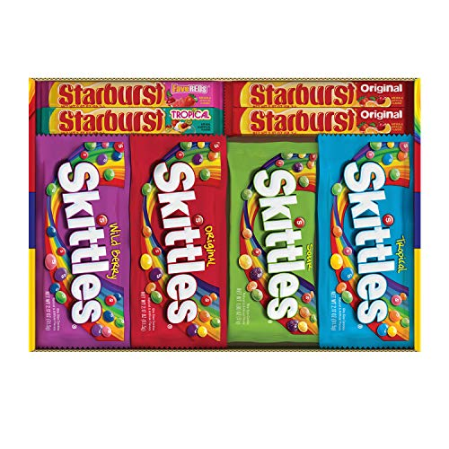 Skittles/Starburst Variety Pack - 30 count スキトルズ スターバースト バラエティ パック 30個入り...