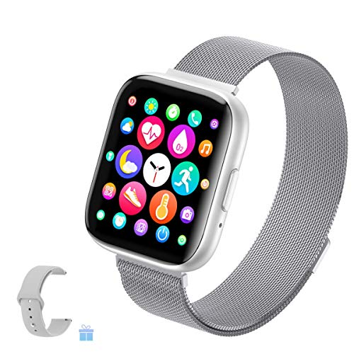 2021 Upgraded Smart Watch for Women, Fitness Tracker with Heart...
