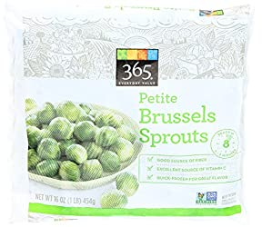 365 Everyday Value, Petite Brussels Sprouts, 16 oz, (Frozen)