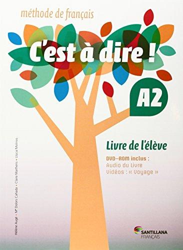 C'EST A DIRE A2 ELEVE + DVD ROM - 9788492729678