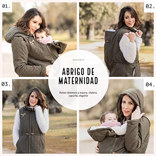 Abrigo de Porteo y Maternidad Multifuncional Amarsupiel 5 en 1, talla XL(48-50),...