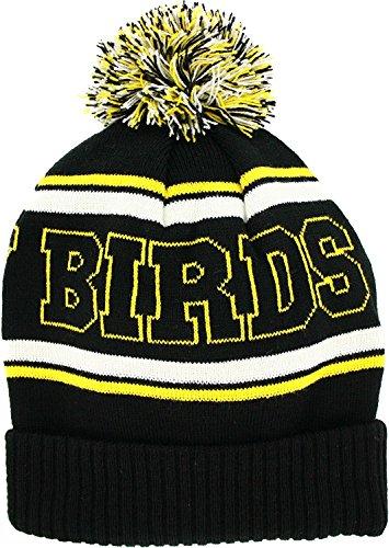 Angry Birds Yellow Bird Striped Beanie Cap