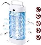 Leilims Électrique Mosquito Lampe électrique silencieuse moustiquaire Insecticide Lampe moustiques avec lumière UV Lampe Mosquito Kitchen Living Room