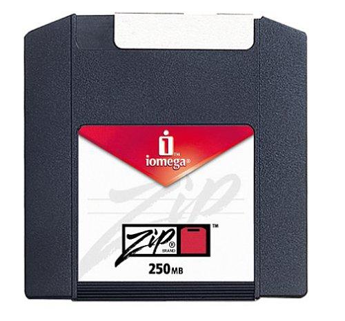 Iomega PC-Formatted 250 MB Zip Disks 4-Pack, Sku 11066 (Discontinued by Manufacturer)