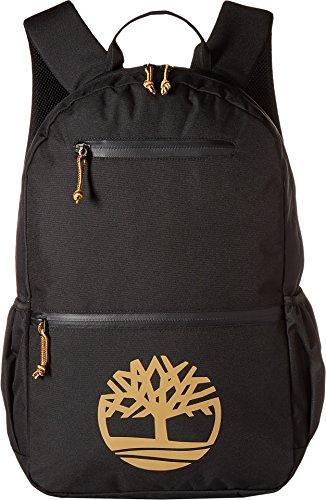 Timberland Men's Tree Logo 28L Backpack Black/Wheat Logo One Size