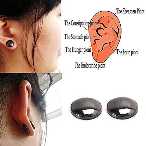 Lottoy® Damen Ohrringe Schmuck Ohrstecker stecker Bio Magnetic Slim Ohr Aufkleber Ohrringe Acupoints Gewichtsverlust tragen Abnehmen