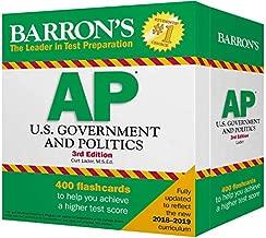 AP U.S. Government and Politics Flash Cards (Barron's Test Prep)